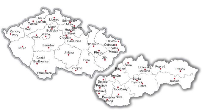 Mapa komunitních buněk